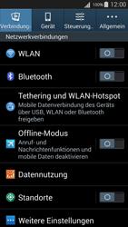 Samsung I9301i Galaxy S III Neo - WLAN - Manuelle Konfiguration - Schritt 4