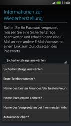 HTC One Mini - Apps - Konto anlegen und einrichten - 13 / 24