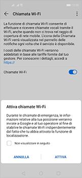 Huawei Nova 5T - WiFi - Attivare WiFi Calling - Fase 8