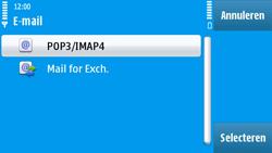 Nokia N97 - e-mail - handmatig instellen - stap 13