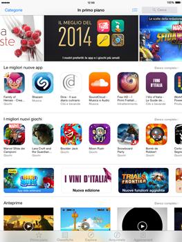 Apple iPad Air iOS 8 - Applicazioni - Come verificare la disponibilità di aggiornamenti per l