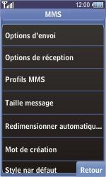 Samsung S8500 Wave - MMS - Configuration manuelle - Étape 14
