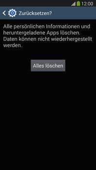 Samsung Galaxy Note 3 LTE - Fehlerbehebung - Handy zurücksetzen - 0 / 0