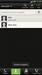 HTC One S - Contact, Appels, SMS/MMS - Ajouter un contact - Étape 9