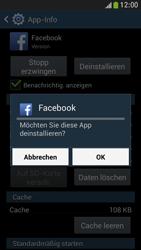 Samsung Galaxy S 4 Mini LTE - Apps - Eine App deinstallieren - Schritt 8