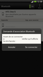 HTC One S - Bluetooth - Jumelage d