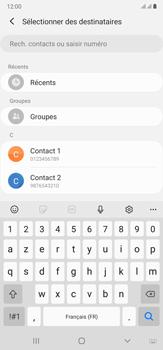 Samsung Galaxy Note20 Ultra 5G - Contact, Appels, SMS/MMS - Envoyer un MMS - Étape 6