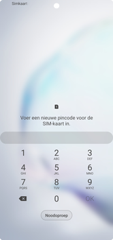 Samsung galaxy-note-10-plus-single-sim-sm-n975f - Beveiliging en ouderlijk toezicht - PUK code invoeren - Stap 3