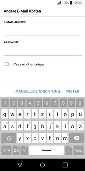 LG Q6 - E-Mail - Konto einrichten - Schritt 8