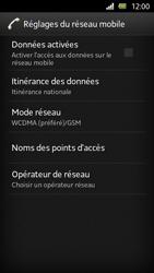 Sony Xperia U - Internet et roaming de données - Configuration manuelle - Étape 6