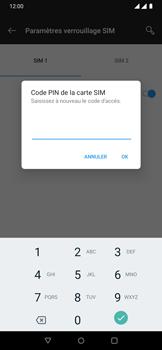 OnePlus 7 - Sécuriser votre mobile - Personnaliser le code PIN de votre carte SIM - Étape 10