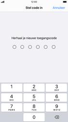 Apple iPhone 8 - iOS 13 - Beveiliging - stel in of wijzig pincode voor je toestel - Stap 7