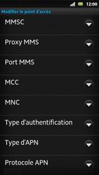 Sony MT27i Xperia Sola - Internet - Configuration manuelle - Étape 12