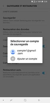 Samsung Galaxy A7 (2018) - Données - créer une sauvegarde avec votre compte - Étape 10