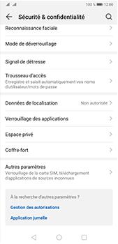 Huawei P20 Pro - Android Pie - Prise en main - Comment activer un code SIM - Étape 4