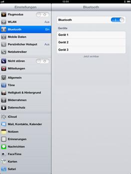 Apple iPad Retina - Bluetooth - Verbinden von Geräten - Schritt 7