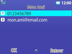 Bouygues Telecom Bc 311 - Contact, Appels, SMS/MMS - Envoyer un MMS - Étape 16