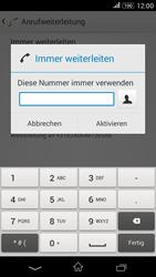 Sony Xperia E4G - Anrufe - Rufumleitungen setzen und löschen - 0 / 0