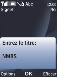 Nokia 6700 classic - Internet - navigation sur Internet - Étape 10