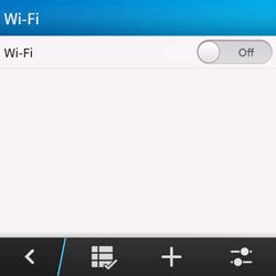 BlackBerry Q10 - WiFi - WiFi configuration - Step 6
