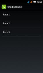 Alcatel One Touch Pop C3 - Rete - Selezione manuale della rete - Fase 13