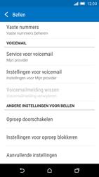 HTC One M9 - voicemail - handmatig instellen - stap 7