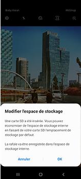Samsung Galaxy A70 - Photos, vidéos, musique - Créer une vidéo - Étape 4