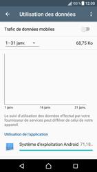 Sony Xperia XA - Internet et roaming de données - Comment vérifier que la connexion des données est activée - Étape 5