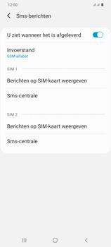 Samsung Galaxy S20 Plus 5G Dual SIM eSIM SM-G986B - SMS - Handmatig instellen - Stap 8