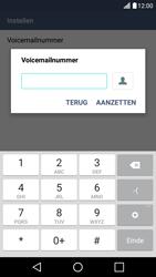 LG LG K10 4G (K420) - Voicemail - handmatig instellen - Stap 10