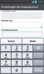 LG Optimus L7 II - E-Mail - Konto einrichten - 0 / 0