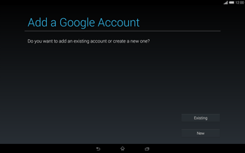 Sony Xperia Tablet Z2 LTE - Applications - Setting up the application store - Step 4