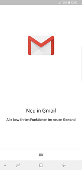 Samsung Galaxy S8 Plus - Android Oreo - E-Mail - 032a. Email wizard - Gmail - Schritt 5