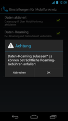 Samsung I9250 Galaxy Nexus - Ausland - Im Ausland surfen – Datenroaming - Schritt 9