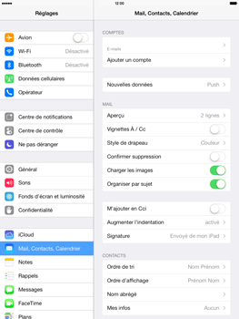 Apple iPad Air - E-mail - configuration manuelle - Étape 14