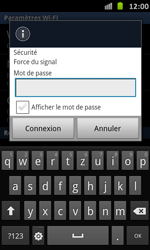 Samsung Galaxy S Advance - WiFi - Configuration du WiFi - Étape 8