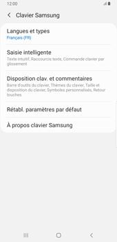 Samsung Galaxy S9 Plus - Android Pie - Prise en main - Comment ajouter une langue de clavier - Étape 8