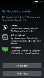Alcatel Idol S - Apps - Konto anlegen und einrichten - 16 / 25