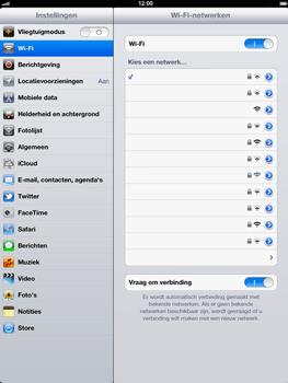 Apple The New iPad - WiFi - Handmatig instellen - Stap 7