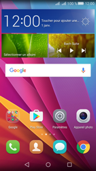 Huawei Y5 II Dual Sim - Photos, vidéos, musique - Créer une vidéo - Étape 2