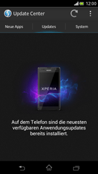 Sony Xperia V - Software - Installieren von Software-Updates - Schritt 7