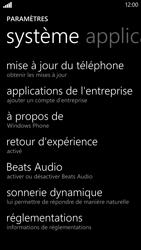 HTC Windows Phone 8X - Logiciels - Installation de mises à jour - Étape 5