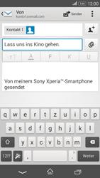 Sony Xperia E4G - E-Mail - E-Mail versenden - 9 / 16