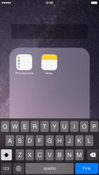 Apple iPhone 6 iOS 8 - Operazioni iniziali - Personalizzazione della schermata iniziale - Fase 6