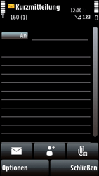 Nokia 5800 Xpress Music - MMS - Erstellen und senden - Schritt 7