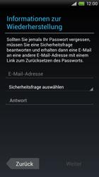 HTC S720e One X - Apps - Konto anlegen und einrichten - Schritt 8