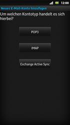Sony Xperia Sola - E-Mail - Konto einrichten - Schritt 7