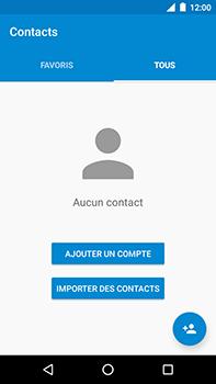 Motorola Moto E4 Plus - Contact, Appels, SMS/MMS - Ajouter un contact - Étape 4