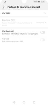 Huawei P Smart 2020 - Internet et connexion - Utiliser le mode modem par USB - Étape 5