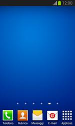 Samsung Galaxy Trend Lite - Operazioni iniziali - Installazione di widget e applicazioni nella schermata iniziale - Fase 11
